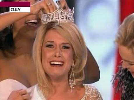 17-летняя блондинка из Небраски завоевала титул Мисс Америка