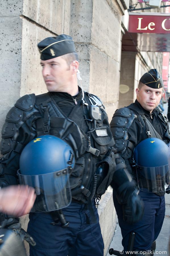 Парижские жандармы