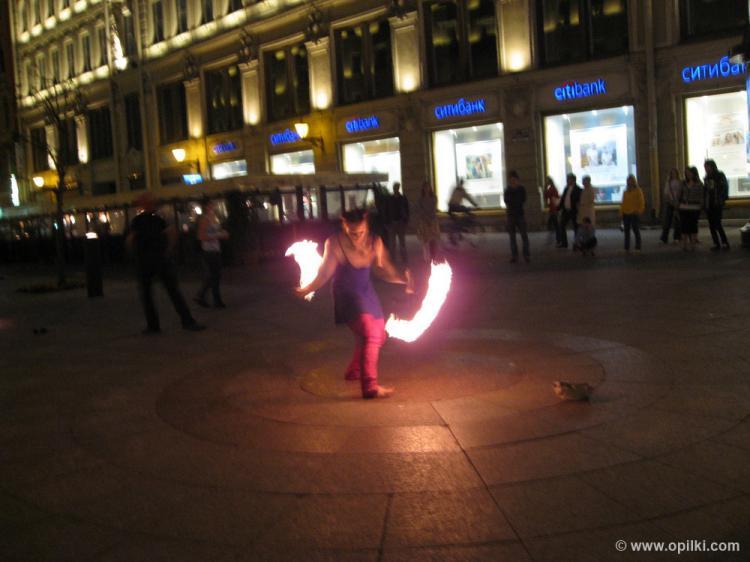 И огненное шоу
