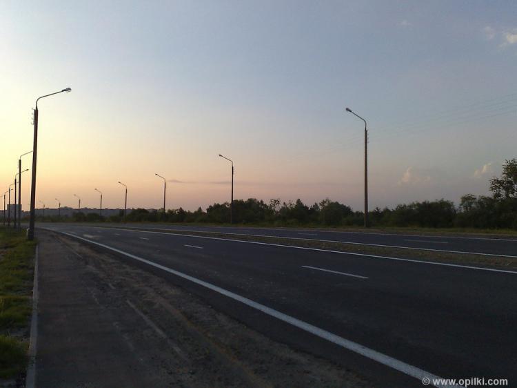 Прогулки вдоль шоссе